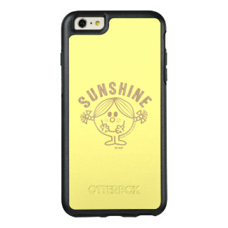 Brown Little Miss Sunshine OtterBox iPhone 6/6s Plus Case