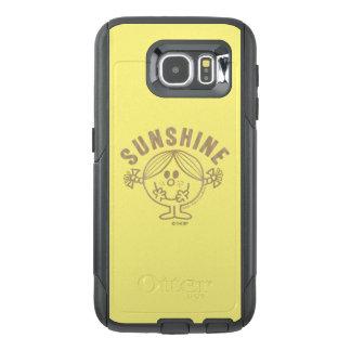 Brown Little Miss Sunshine OtterBox Samsung Galaxy S6 Case