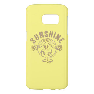Brown Little Miss Sunshine Samsung Galaxy S7 Case