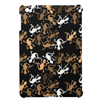 Brown lizards pattern case for the iPad mini