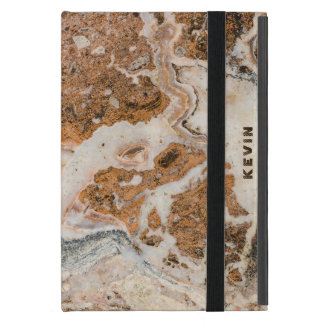 Brown Marble Stone Cover For iPad Mini
