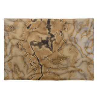 Brown Marble Texture Placemat