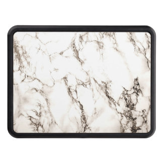 Brown Marble Trailer Hitch Cover