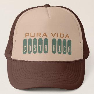 Brown Men's Costa Rica Souvenir Pura Vida Trucker Hat