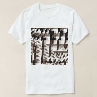 brown mirror T-Shirt