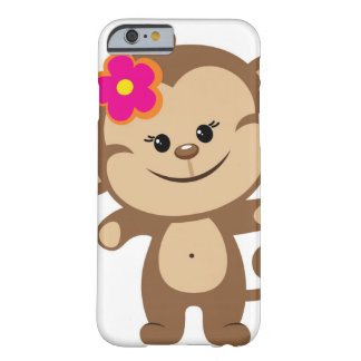 Brown monkey iPhone 6 case Phone Case