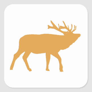 Brown Moose Sticker