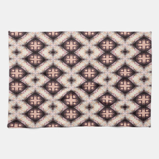 Brown Mosaic Kitchen Towel