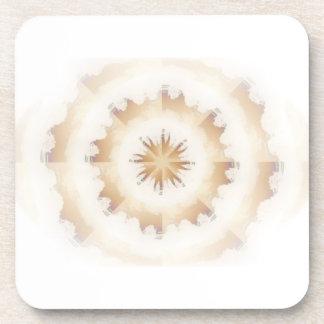 Brown Nature Kaleidoscope Coasters