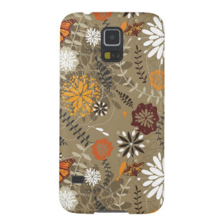Brown Nature Pattern Galaxy S5 Cover