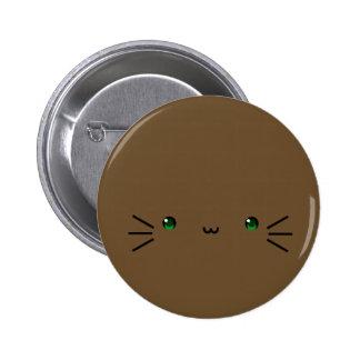 brown neko button