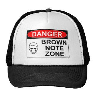 BROWN NOTE TRUCKER HAT