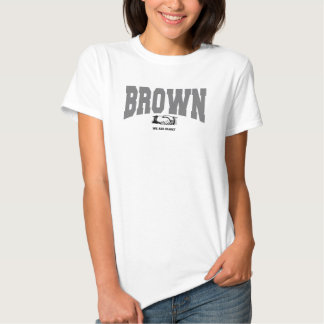 BROWN : Nous sommes famille Tee-shirt