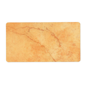 Brown old wall with cracks blank custom shipping shipping label