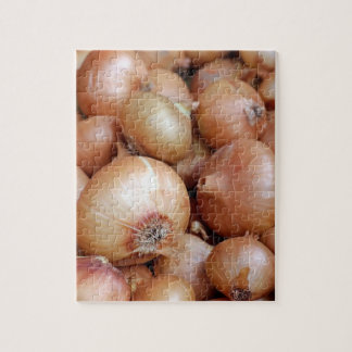 Brown Onions Jigsaw Puzzle