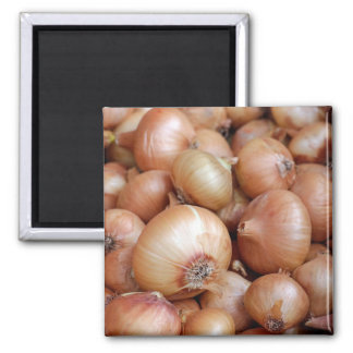 Brown Onions Magnet
