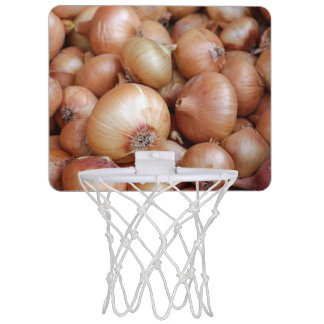 Brown Onions Mini Basketball Hoop