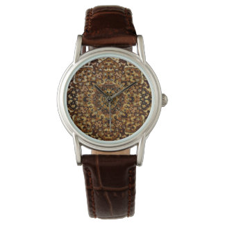 Brown Oriental Rug Watches