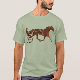Brown Pacer Silhouette T-Shirt