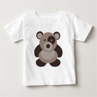 Brown Panda Bear Tshirts