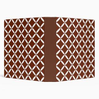 Brown Pattern Binder
