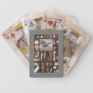 Brown Pelican Bicycle Playing Cards