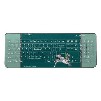 Brown Pelican Bird Funny Poem Wireless Keyboard