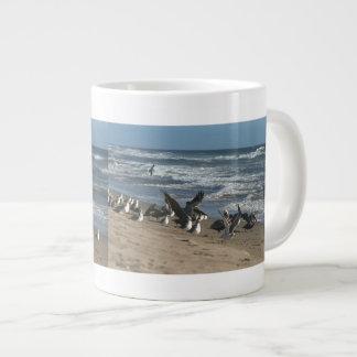 Brown Pelican Birds Wildlife Animals Large Coffee Mug
