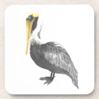 Brown Pelican Coaster