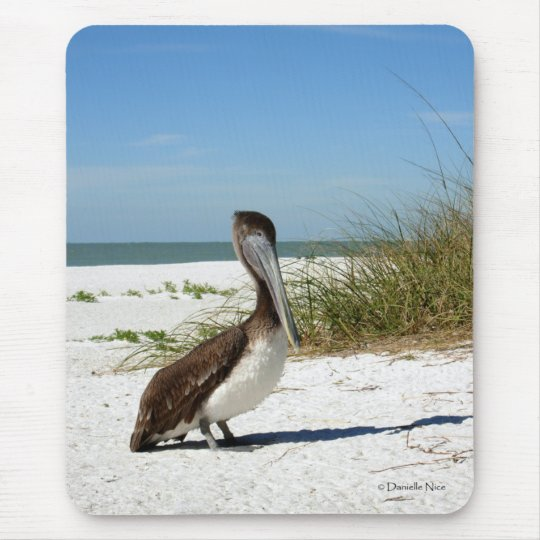 Brown Pelican Mousepad