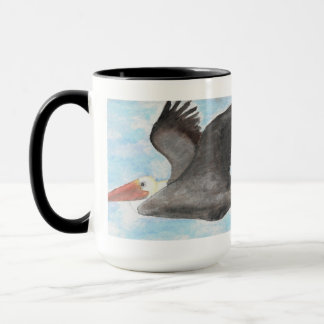 Brown Pelican Mug