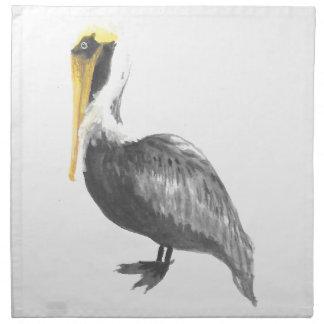 Brown Pelican Napkin