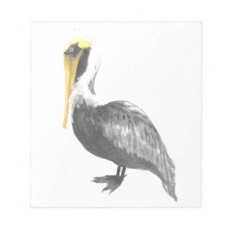 Brown Pelican Notepad
