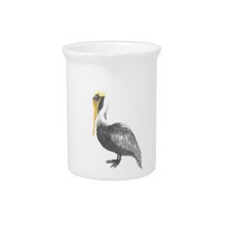 Brown Pelican Pitcher