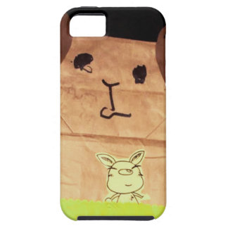 Brown piggy face case for the iPhone 5