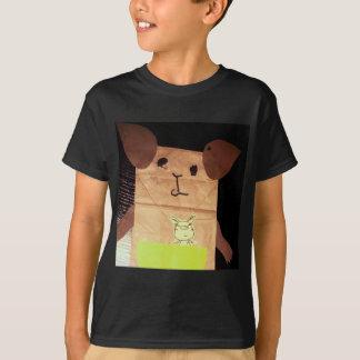 Brown piggy face T-Shirt