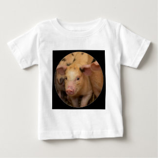 """Brown piglet"" Baby T-Shirt"