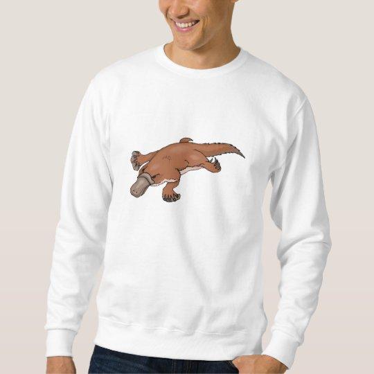 Brown Platypus Sweatshirt