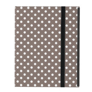 Brown Polka Dots Cases For iPad