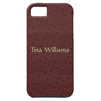 Brown Polkadot Coques Case-Mate iPhone 5