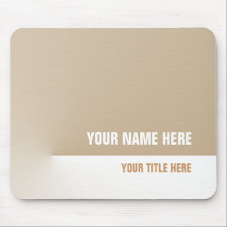 Brown Pro Mouse Pad