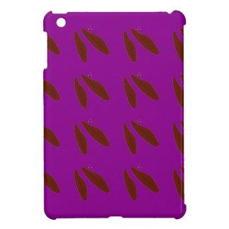 Brown purple beans. Design beans. iPad Mini Case