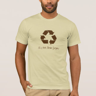 Brown Recycle T-Shirt