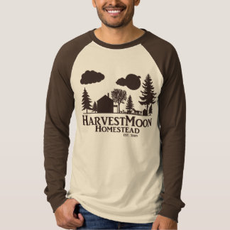Brown Reglan Harvest Moon T-Shirt