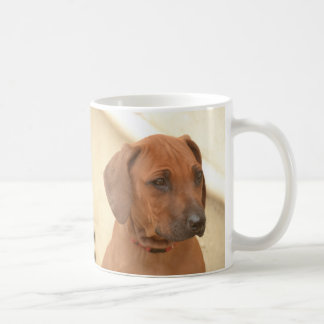 Brown Rhodesian Ridgeback profile Coffee Mug