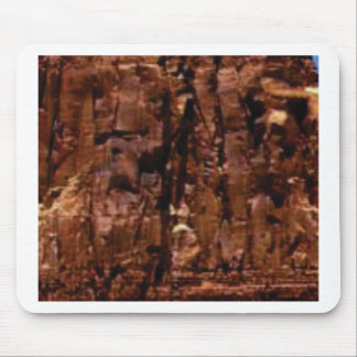 brown rock crumble mouse pad