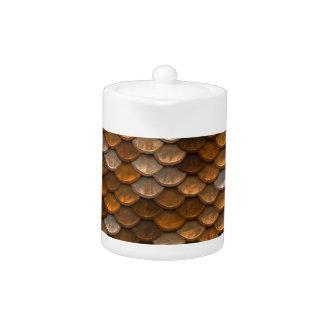 Brown scales pattern