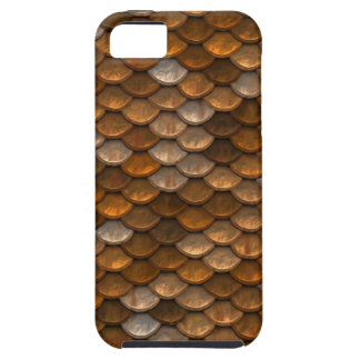 Brown scales pattern iPhone 5 cover