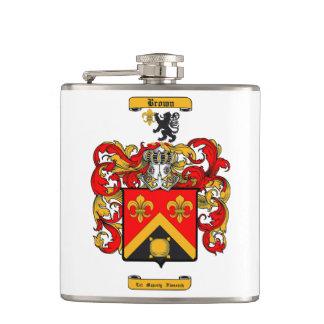 Brown (Scottish) Hip Flask