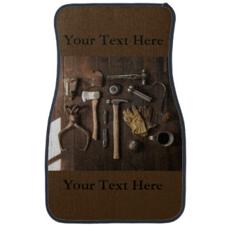 Brown Set of Handyman Car Mats